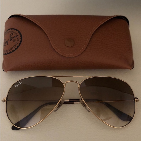 9dcfee9a8c8 Rayban Classic Aviator Sunglasses Gold